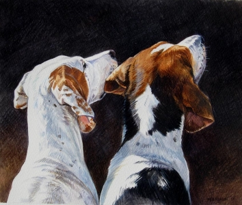 Pair of Hounds